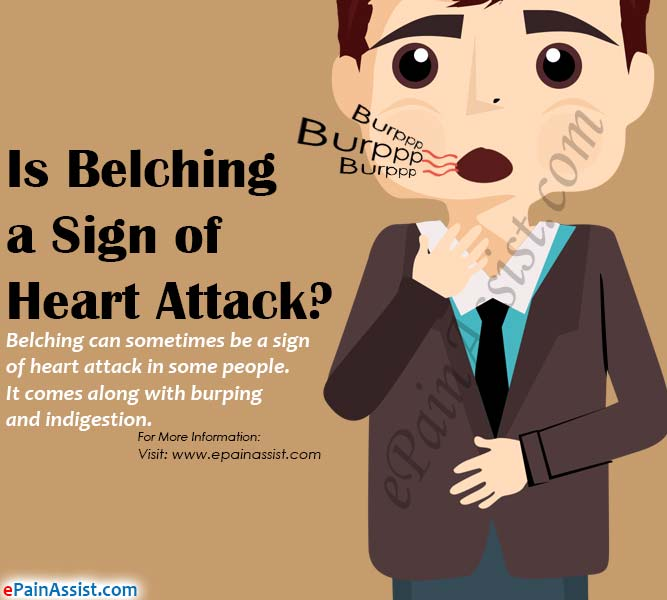 Is Belching a Sign of Heart Attack?