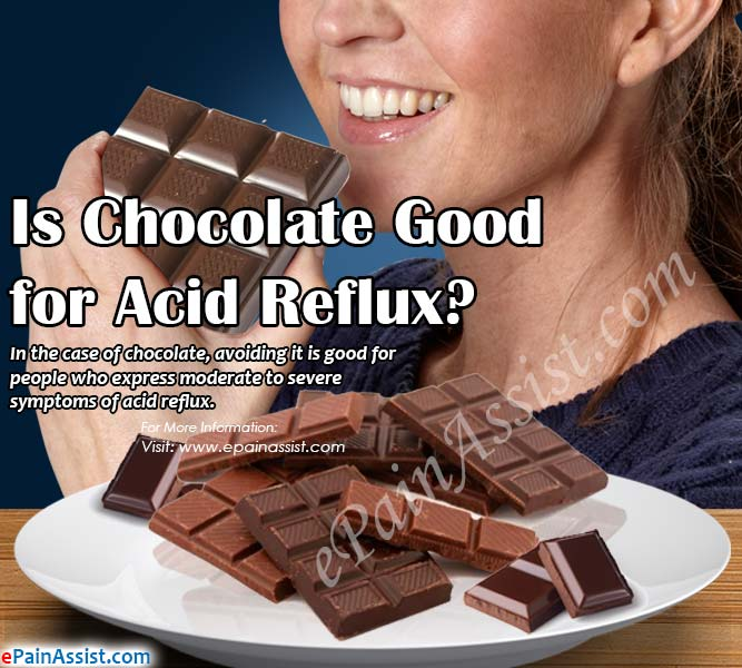 Is Chocolate Good for Acid Reflux?