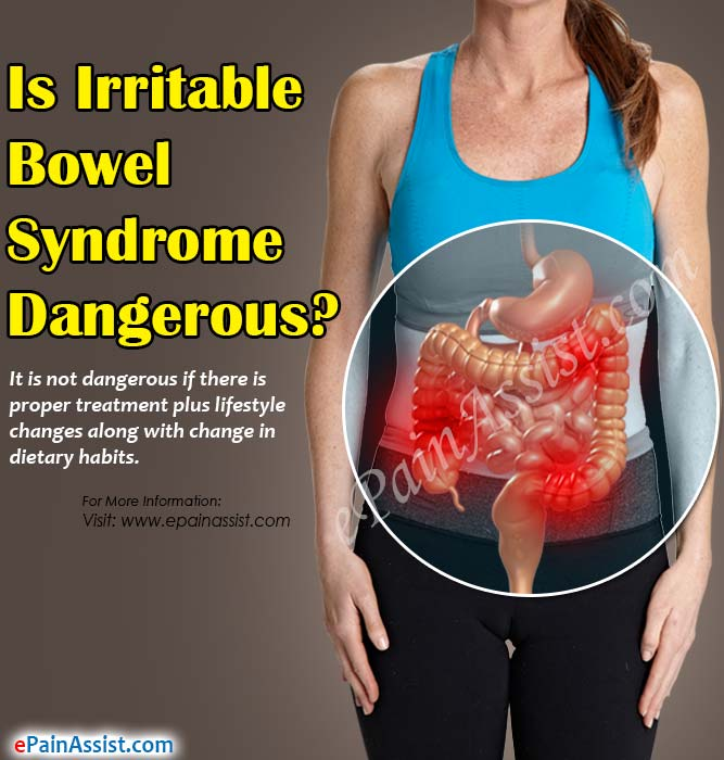 Is Irritable Bowel Syndrome Dangerous?