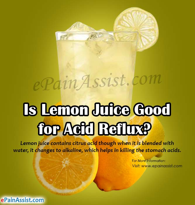 Is Lemon Juice Good for Acid Reflux?