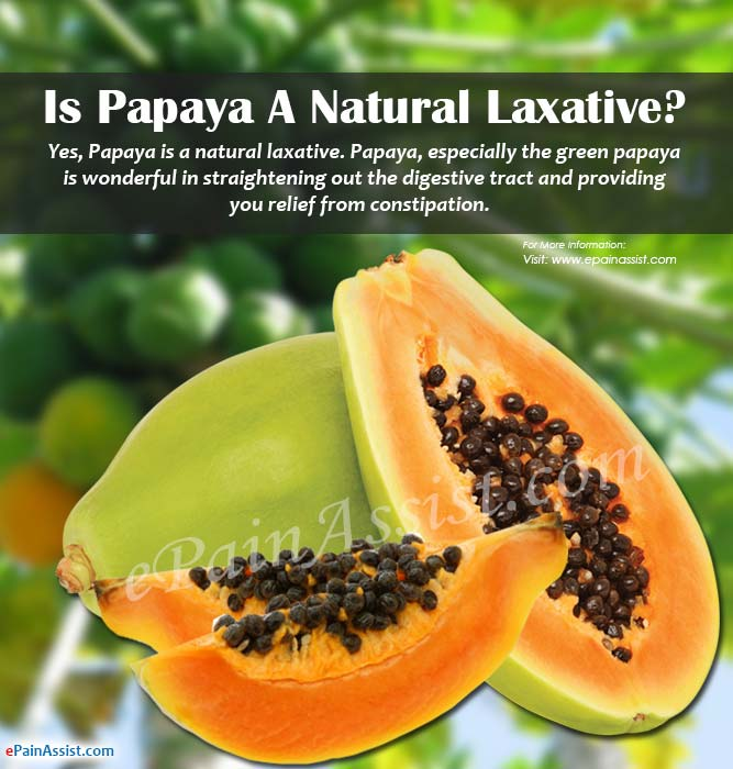 Is Papaya a Natural Laxative?