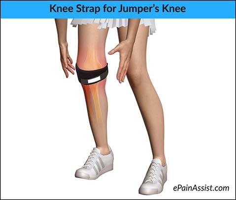 Knee Strap for Patellar Tendonitis or Jumper's Knee