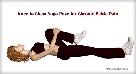 Knee to Chest Yoga Pose for Chronic Pelvic Pain (CPP)