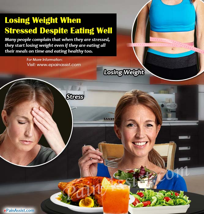 Losing Weight When Stressed Despite Eating Well?