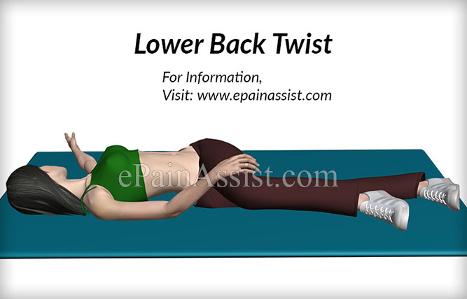 McKenzie Exercise for Back #4: Lower Back Twist