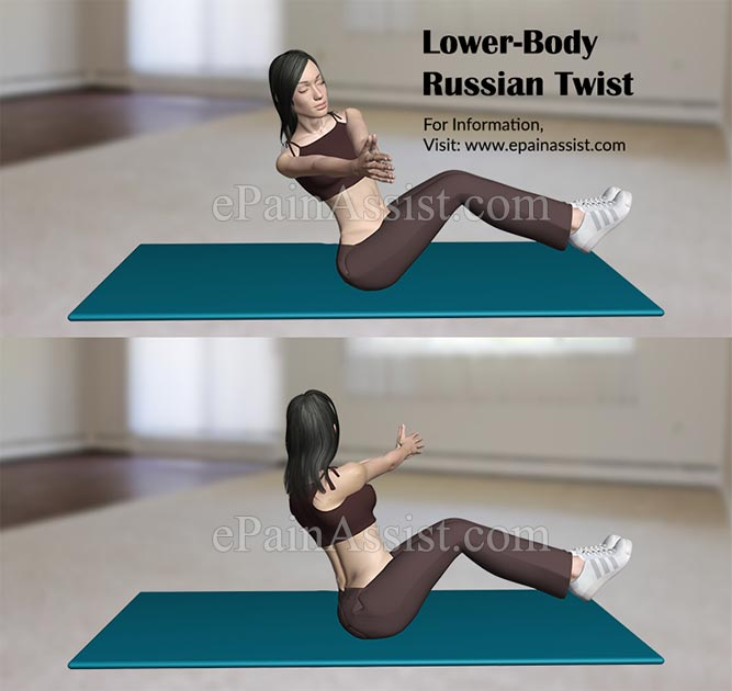 Lower-Body Russian Twist Exercises for Runners