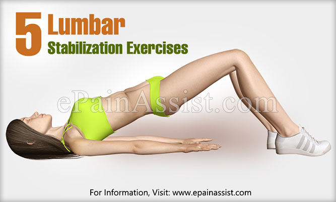Lumbar Stabilization Exercises
