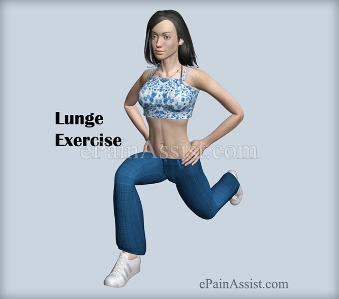 Lunge Exercise  For Ankle Joint Ligament Injury!
