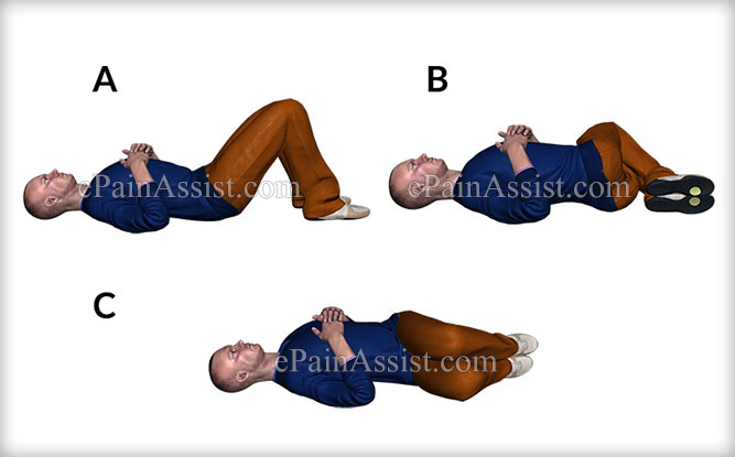 Lying Down Stretching Exercise for Lower Back