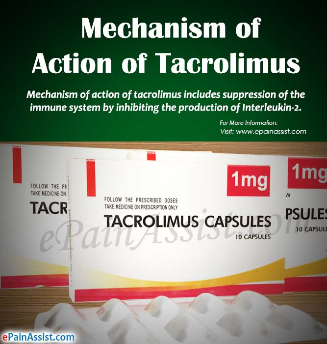 Mechanism of Action of Tacrolimus