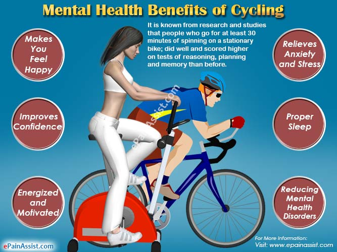 Mental Health Benefits of Cycling