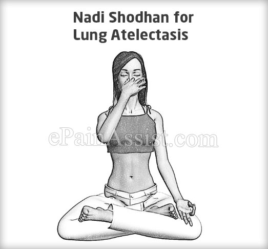 Nadi Shodhan for Lung Atelectasis