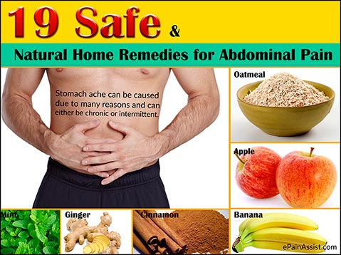 19 Safe And Natural Home Remedies For Abdominal Pain Or