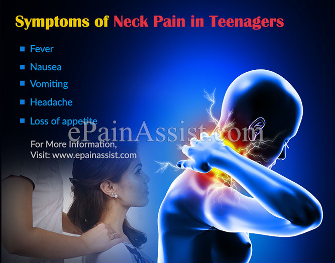 Neck Pain In Teenagers Causes Symptoms Treatment Prevention