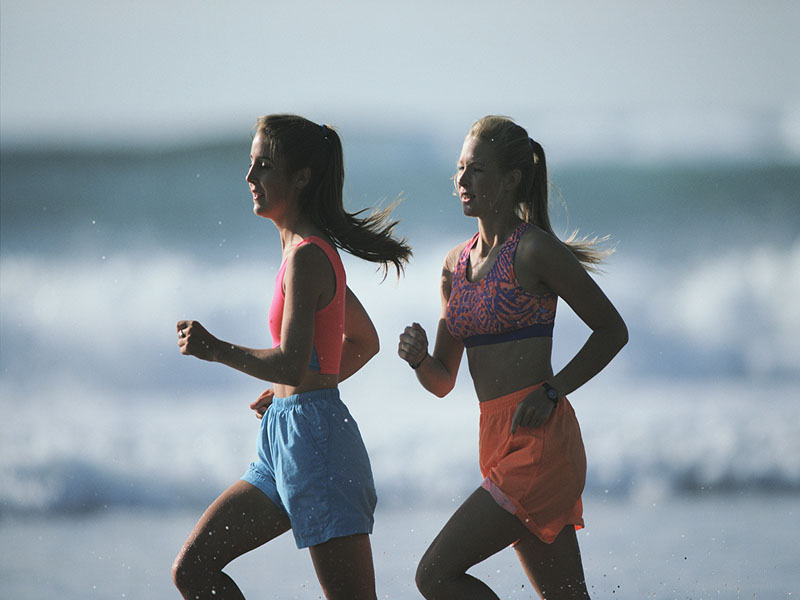 Researcher says less muscle mass can make leg bones more vulnerable to injury.