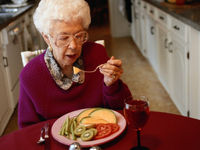 A large study suggests you're never too old to benefit from a commitment to eating healthier.
