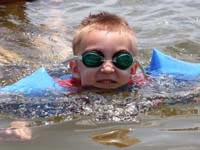 Swimming lessons are essential -- even before other therapies, researcher says.