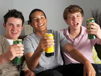 Study finds frequent binge drinking among adolescents has dropped in past 25 years.