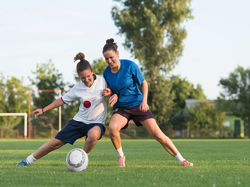 Study of soccer players shows diversity of activity might help.