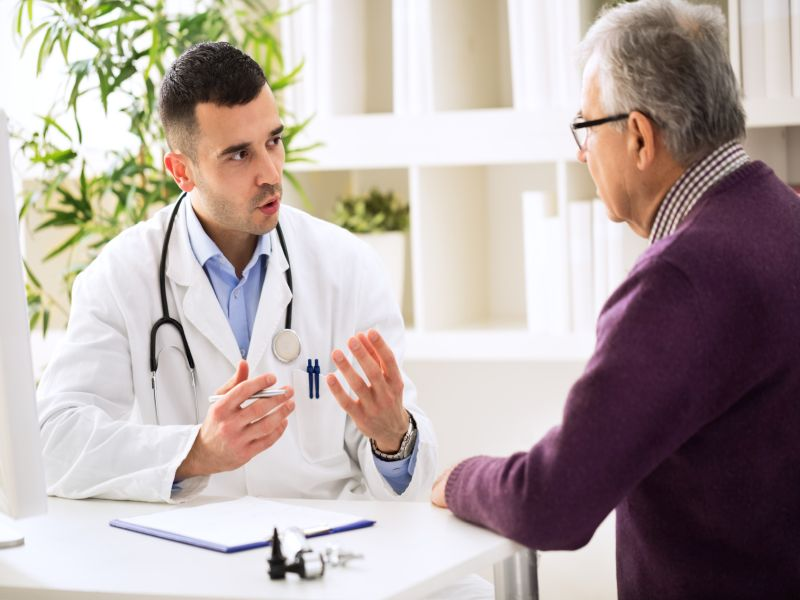 Doctors should counsel patients that if they have one disease, they're at risk of the other.