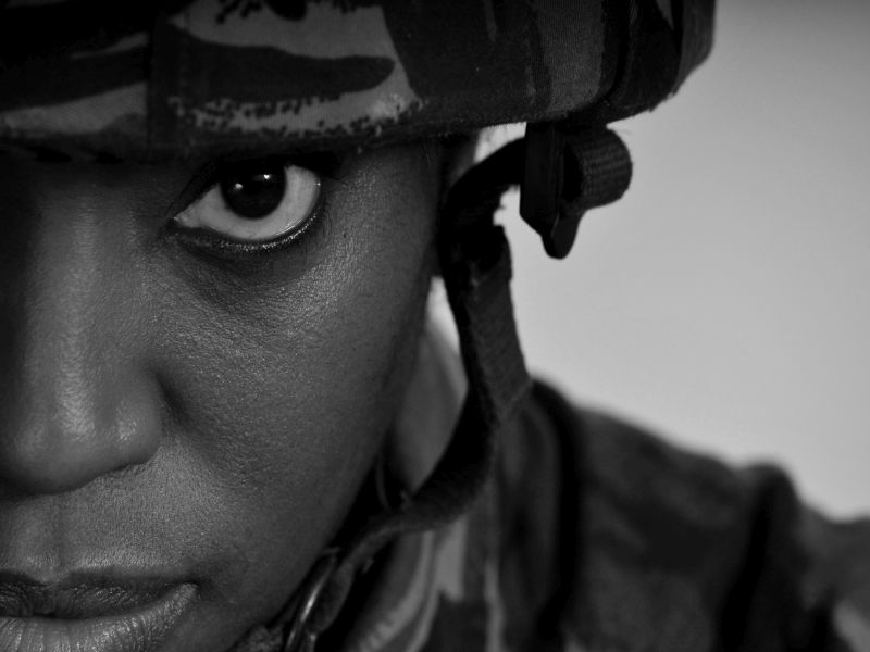 Study found area linked to emotions was larger in soldiers who had both conditions.