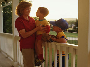 Study found when parents become therapy partners, they become less depressed, learn to keep emotions in check.