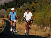 Cycling benefits your heart, muscles, waistline and disposition, experts say.