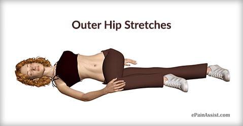 Outer Hip Stretches for Gluteus Minimus Strain!