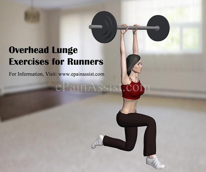 Overhead Lunge Exercises for Runners