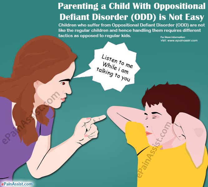 Parenting a Child With Oppositional Defiant Disorder (ODD) is Not Easy