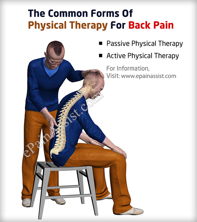 The Common Forms Of Physical Therapy For Back Pain
