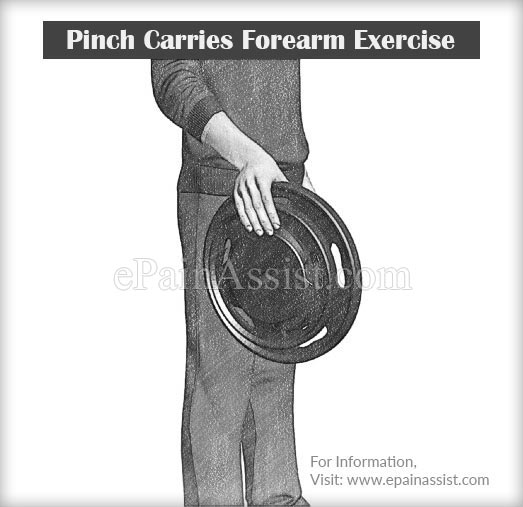 Pinch Carries Forearm Exercise