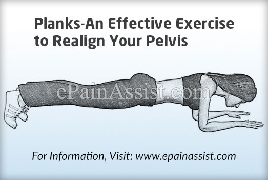 Planks-An Effective Exercise to Realign Your Pelvis