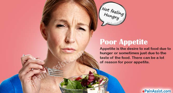 Poor Appetite: What Can Cause Loss of Appetite?