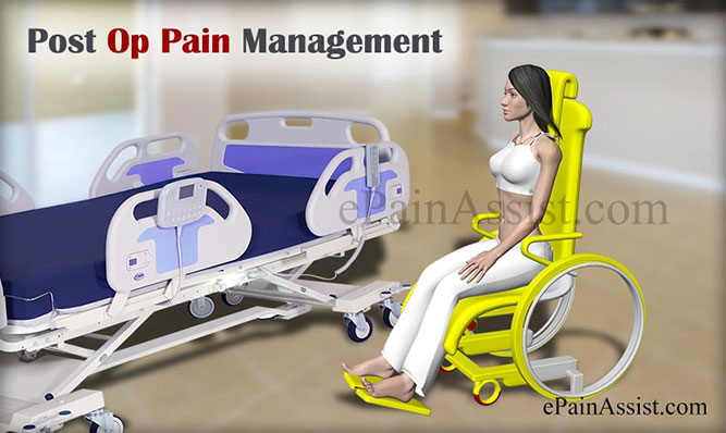 Post Op Pain Management or Post Surgical Pain Management