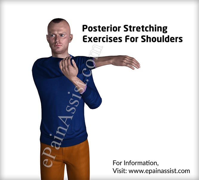 Posterior Stretching Exercises For Shoulders