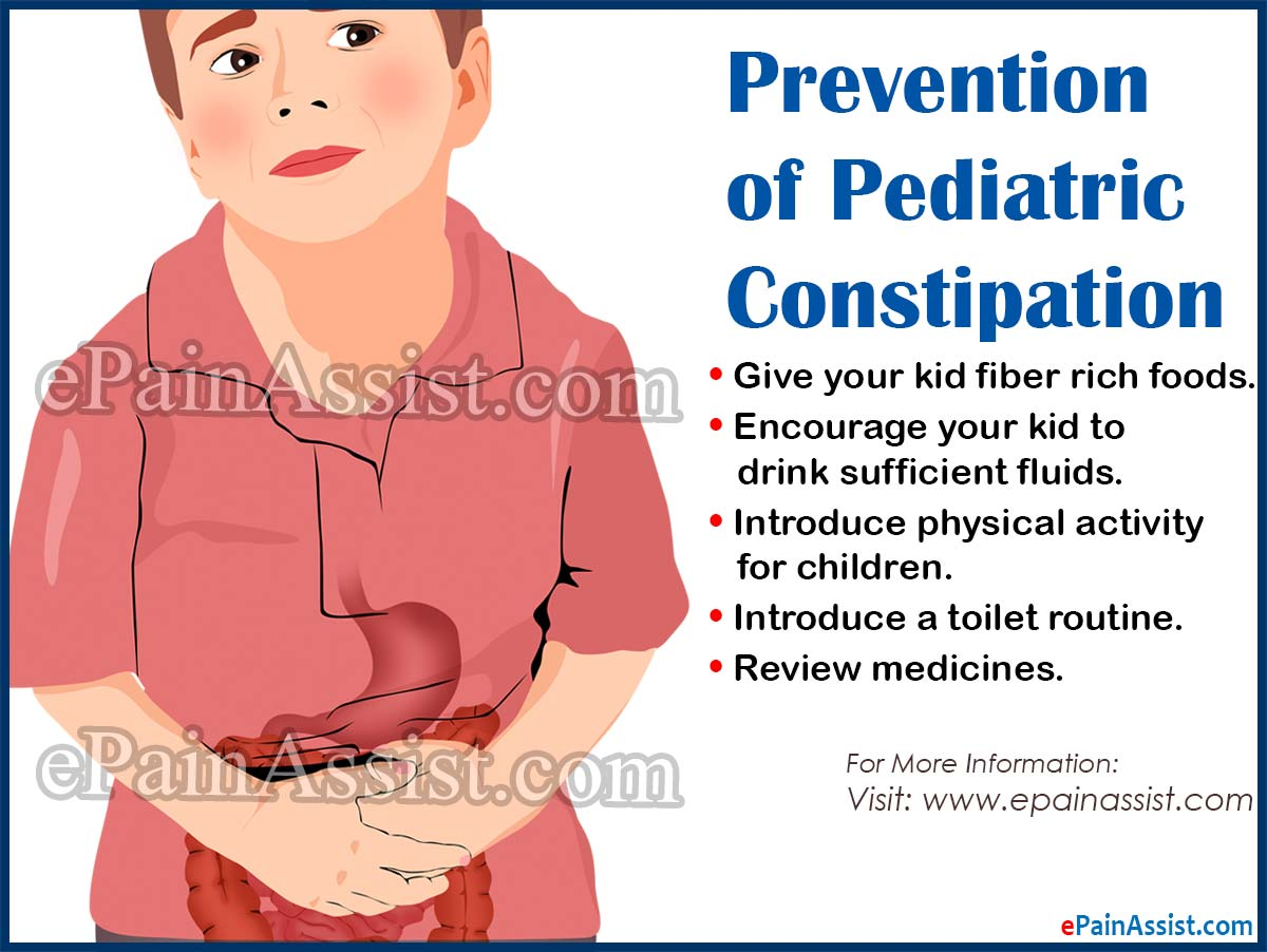 Pediatric Constipation: Recovery, Prevention, Prognosis, Toilet Training, Lifestyle Changes