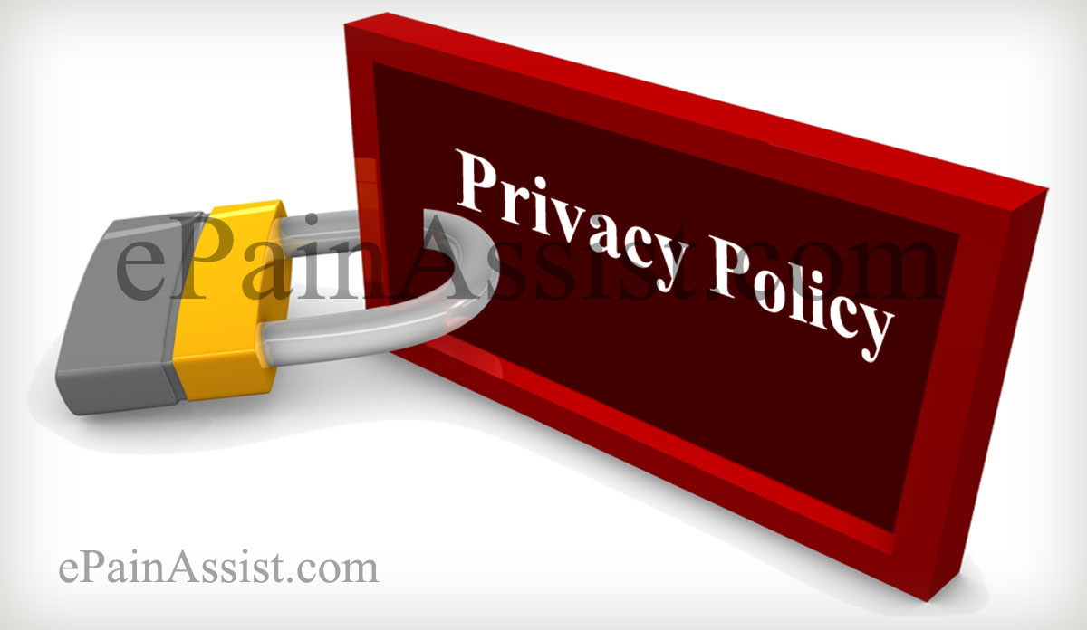 Privacy Policy-ePainAssist.com