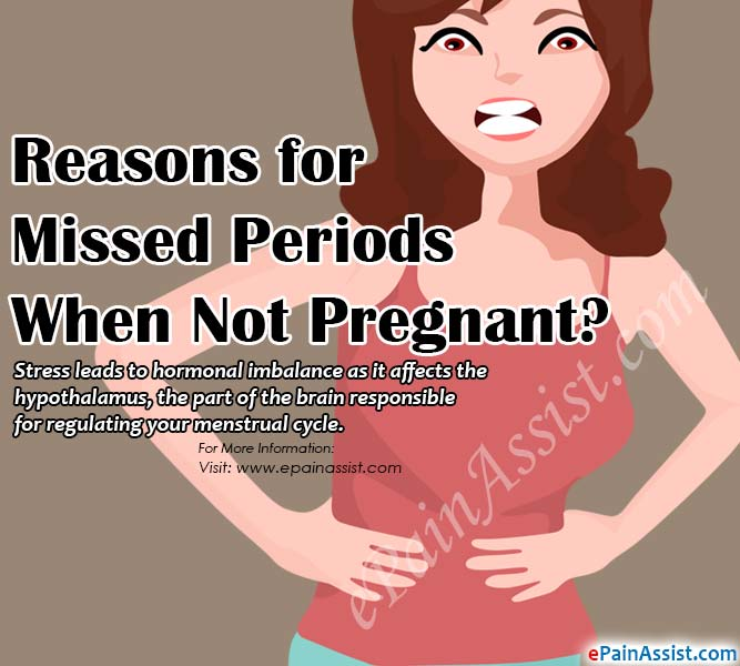 Reasons for Missed Periods When Not Pregnant