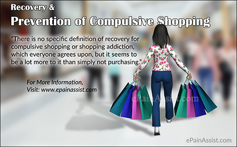 Recovery & Prevention of Compulsive Shopping or Shopping Addiction
