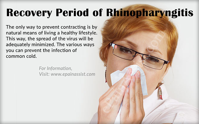 Recovery Period of Rhinopharyngitis or Acute Coryza