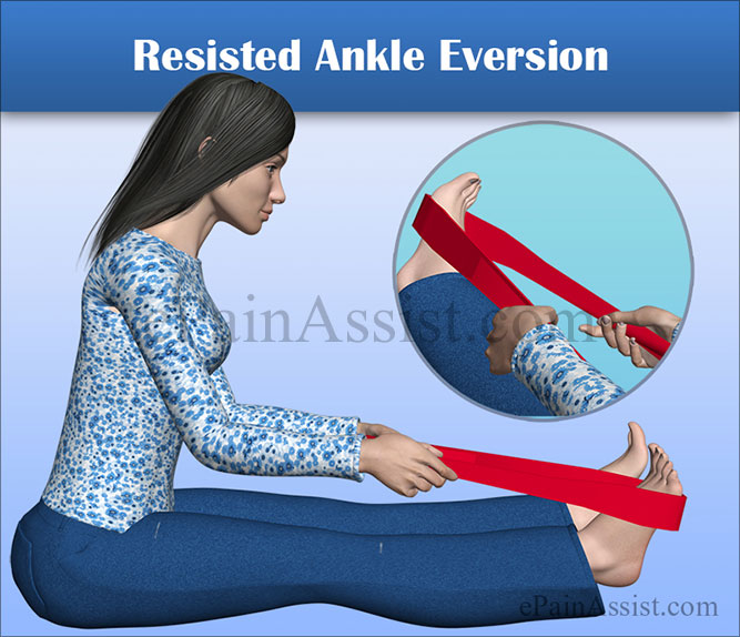 Resisted Ankle Eversion Exercise for Peroneal Tendon Subluxation