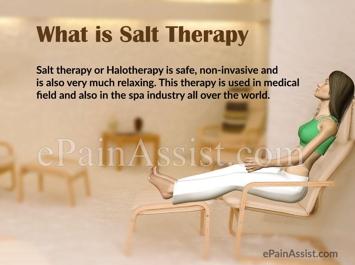 What is Salt Therapy or Halotherapy