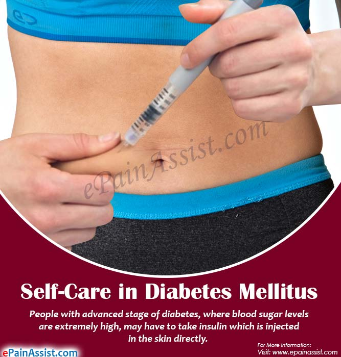 Self-Care in Diabetes Mellitus