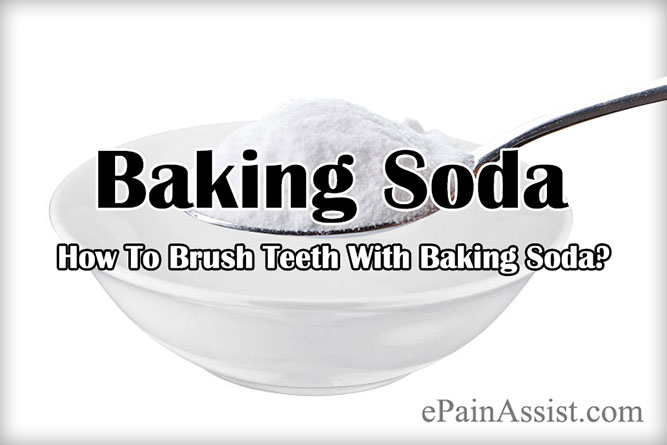 How To Brush Teeth With Baking Soda