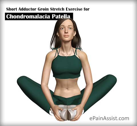 Short Adductor Groin Stretch Exercise for Chondromalacia Patella (CMP)