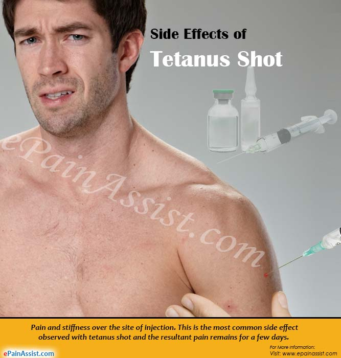 Side Effects of Tetanus Shot