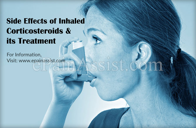 Side Effects of Inhaled Corticosteroids & its Treatment