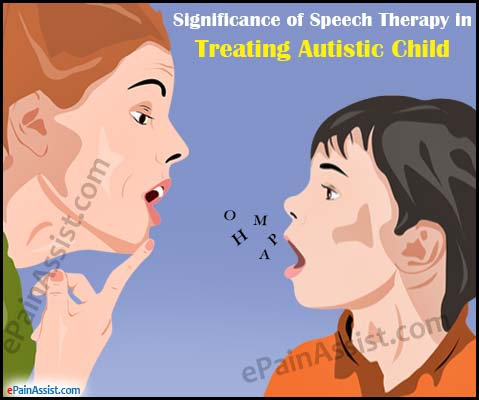 Significance of Speech Therapy in Treating Autistic Child