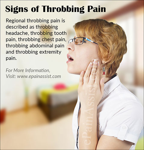 Clinical Signs of Throbbing Pain